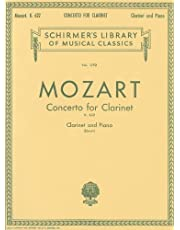 Clarinet Concerto in A Major, K622: Score and Parts