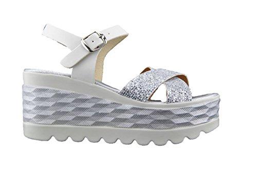 Sandales Avec Femmes Dans Made Compensées Italie Cn7pfy6 fgyIY67bv