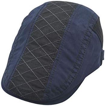 野球帽 キャスケット メンズ 鳥打帽 ゴルフ コットン 日よけ シンプル 調整可能 ハンチング 55-61cm LWQJP (Color : グレー, Size : M)