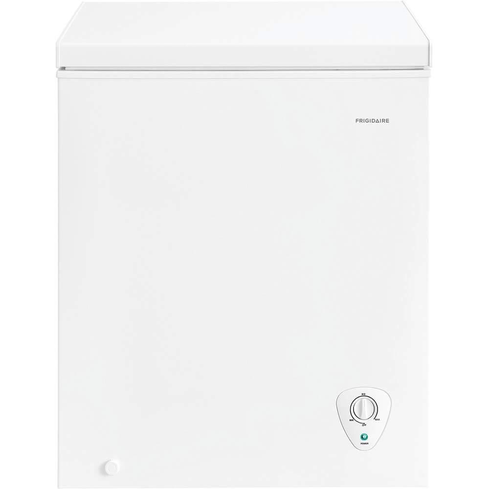 Frigidaire 5.0 Cu. Ft. White Chest Freezer