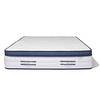 Brentwood Home Oceano Wrapped Innerspring Mattress, Made in California