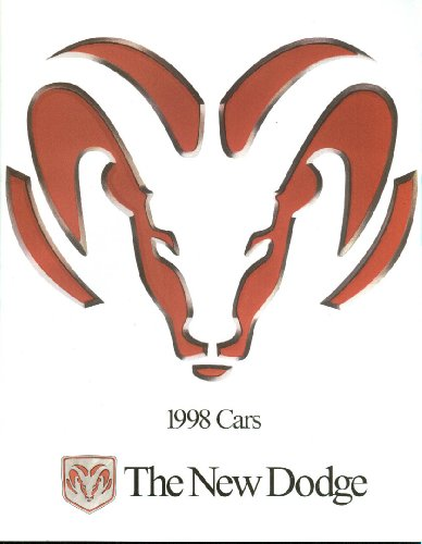 1998 Dodge Viper Intrepid Stratus Avenger Neon Caravan Durango brochure