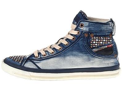 28726d206e5 Amazon.com: Diesel Women's Magnete Exposure IV W Fashion Sneaker: Shoes