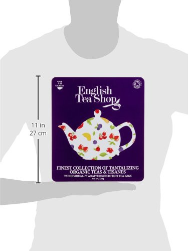 English Tea Shop Assorted Super Fruits Gift Box, 72 Tea Bags by English Tea Shop (Image #4)
