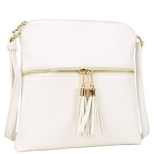 White Designer Handbags - 8