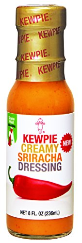 Kewpie Salad Dressing, Creamy Sriracha, 8 Ounce (Pack of 2)