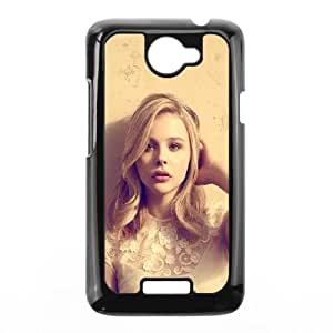 HTC One X Cell Phone Case Black hd49 chloe moretz cute sexy actress celebrity Zpsjx