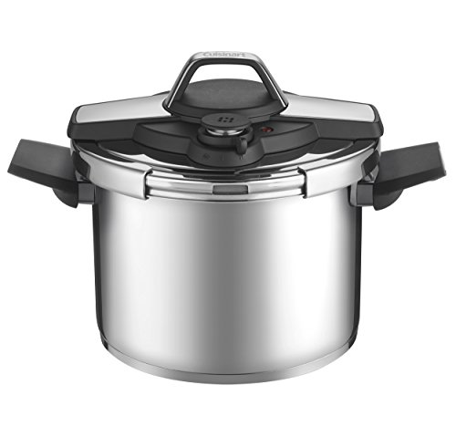 Cheap Cuisinart CPC22-6 Professional Collection Stainless Pressure Cooker, Medium, Silver