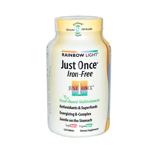Just Once Multivitamin Iron - 8