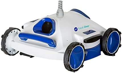 Gre RKC100J Kayak Clever - Robot Eléctrico Limpiafondos de Piscina, 18.000 l/h