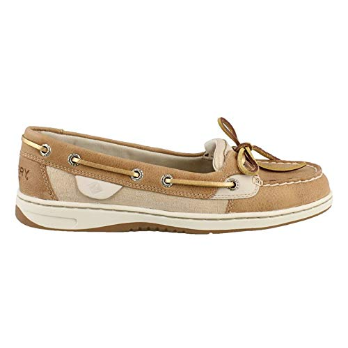 SPERRY Women's Angelfish Metallic Linen 8.5 M US