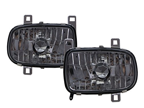 - CABI FD3S RX-7 RX7 1992 2002 Third generation - Coupe 2D Clear Headlight Headlamp Chrome for MAZDA LHD