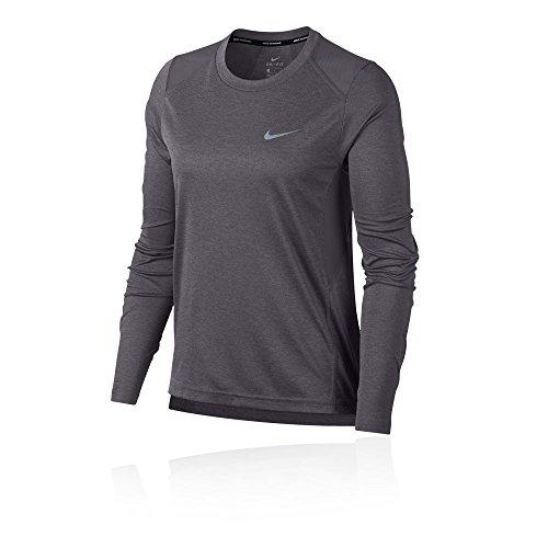 Shirt Heather Women's Nike T Miler Gunsmoke qwXqftx0
