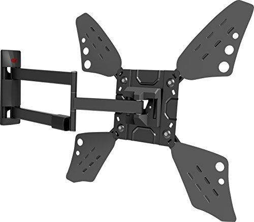 Barkan 3400L.B Full Motion Curved/Flat TV Wall Mount for 32