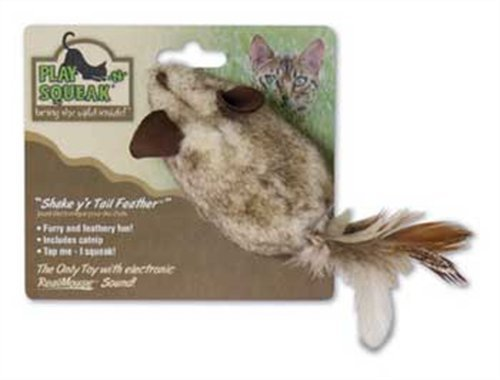Shake y'r Tail Feather Cat Toy, My Pet Supplies