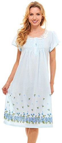 Womens Nightgown Sleepwear Cotton Pajamas product image