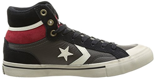 Sneaker Hi suede Blaze Pro black red Adulto Unisex Charcoal Converse Leather wEBHqwX