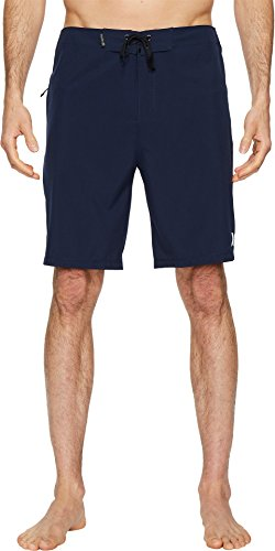 (Hurley Men's Phantom One and Only Board Shorts, Obsidian, 28)