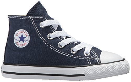 Star Converse Canvas Top Kids' Sneaker Taylor All High Navy Chuck qxFpZ6I