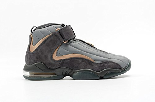 Nike AIR PENNY IV mens basketball-shoes 864018-002_10.5 - WOLF GREY/MTLC COPPERCOIN-ANTHRACITE ()