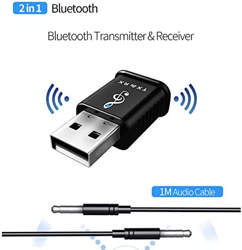 Neufday Mini USB 4.0 Bluetooth Adapter//Receiver and Transmitters