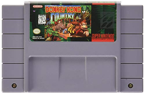 Amazon com: Donkey Kong Country: Super Nintendo: Nintendo