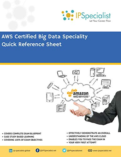AWS Certified Big Data Specialty Quick Reference Sheet: Cheat Sheet Kindle Editon