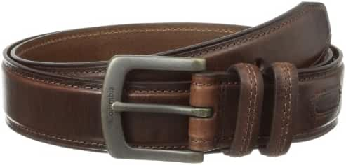 Columbia Men's 1 9/16 in. Oil Tan Leather Belt