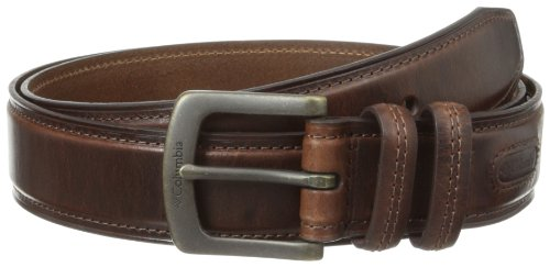 Columbia Men's 1 9/16 in. Oil Tan Leather Belt,Brown,36 (Brown Oil Tan Leather)