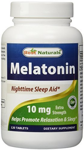 Best Naturals Melatonin 10 mg, 120 Tablets by Best Naturals