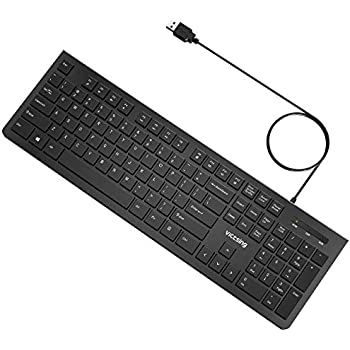 Amazon com: AmazonBasics Wired Keyboard: Electronics