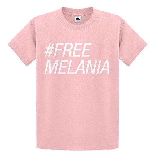 Indica Plateau Youth Free Melania Medium Light Pink Kids T-Shirt
