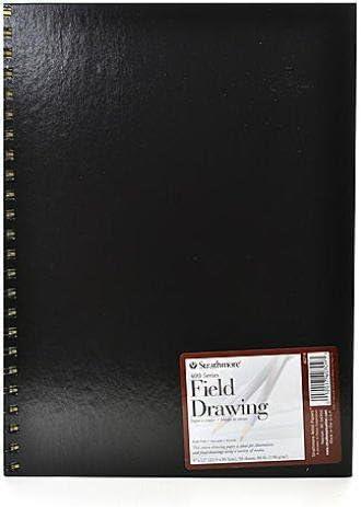 Strathmore 400シリーズフィールドDrawing Book ( 9 x 12インチパッド) 1個SKU # 1831700 MA