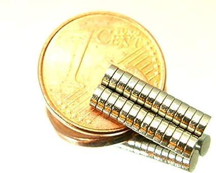 Neue kleine Power Ringmagnete 10x3 mm Neodym für Pinnwand Werkstatt