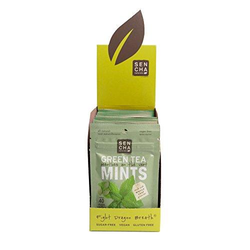 Sencha Naturals, Green Tea Mints, Box of 12 Resealable Packets (Moroccan Mint)