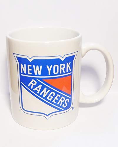 Coffee Mug Rangers (NY Rangers 11oz white coffee cup new 2 sided)