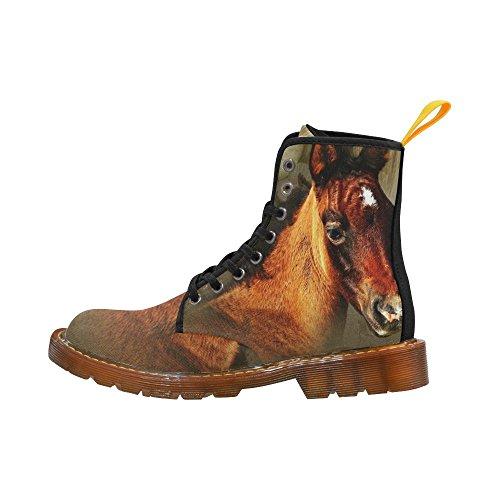 D-story Schoenen Cool Horse Lace-up Martin Laarzen Voor Dames
