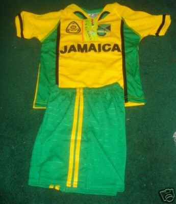 0fd96140f66 Amazon.com   JAMAICA SOCCER JERSEY KIDS SET sizes 4-6-8-10-12   Soccer  Equipment   Sports   Outdoors