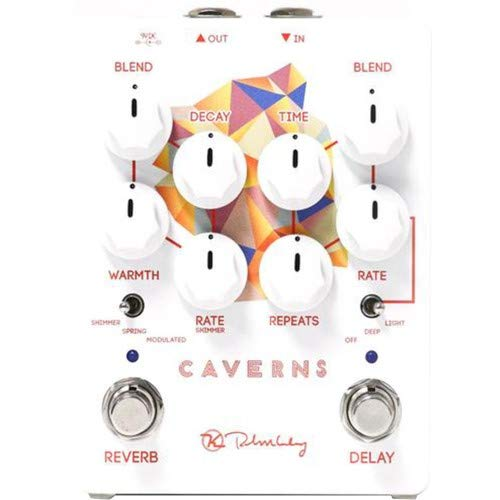 Keeley Caverns V2 Delay/Reverb Effects Pedal (Delay Reverb Pedal)
