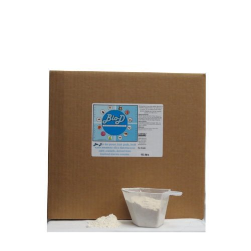 Ginesis Bio-D Food Grade Diatomaceous Earth (15-Pound Box)