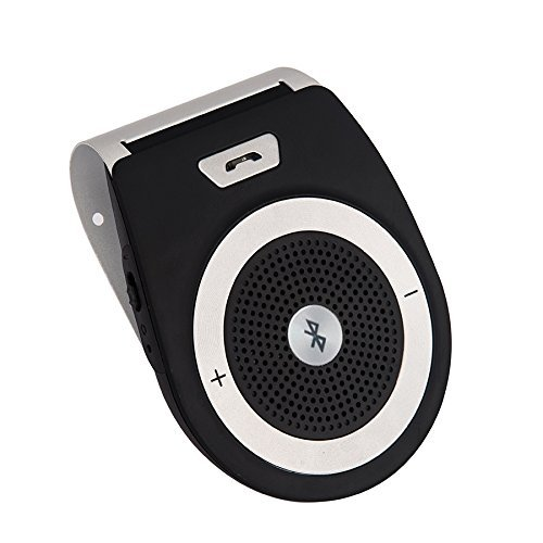 Wireless Car Speaker Bluetooth Receiver Sun Visor Speakerpho