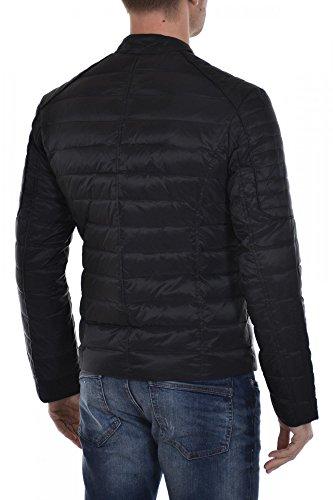 Serge Pariente Blouson Leman doudoune textile noir