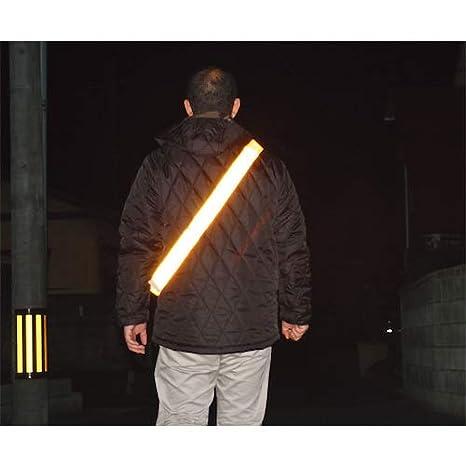 ミズケイ 役立~ツ サイズ調節付き反射タスキ タスキング イエロー