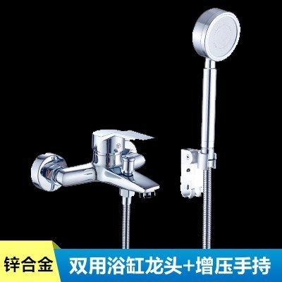 23484 Hlluya Professional Sink Mixer Tap Kitchen Faucet Shower Faucet brass body full bathroom with bathtub and hot and cold shower faucet mixing valve shower kit, full copper faucet three stall shower kit