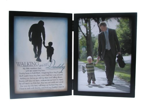 The Grandparent Gift Silhouettes Frame, Walking with Daddy The Grandparent Gift Co. 4200