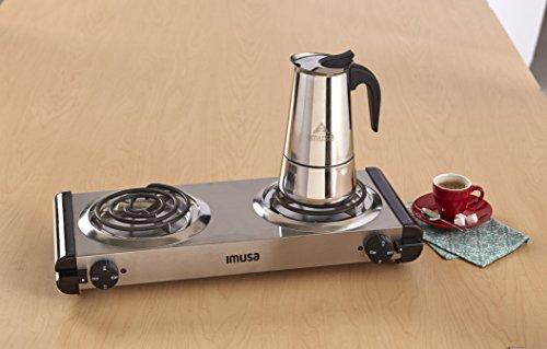 Imusa Usa Gau 18206 Gourmet Espresso Cappuccino Maker 4