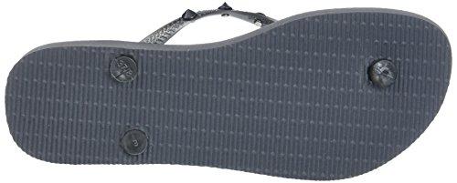 Havaianas Graphite Grey Slim Womens Hardware Sandals Rock Uvw0vR