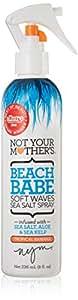 Not Your Mother's Beach Babe Soft Waves Sea Salt Spray, Tropical Banana Scent - 8 Ounce