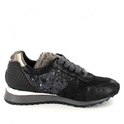 Donna Carolina Sneaker , Farbe: Schwarz