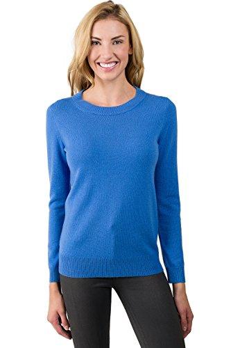 100% Cashmere Crew Sweater - 9